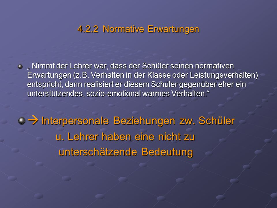 4.2.2 Normative Erwartungen