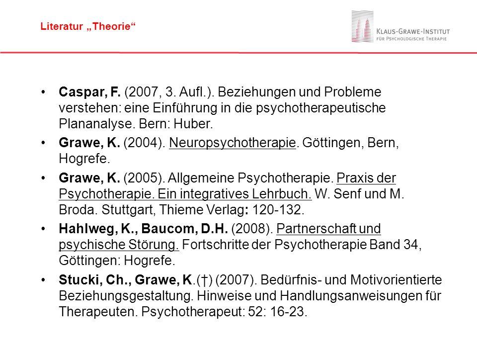 Grawe, K. (2004). Neuropsychotherapie. Göttingen, Bern, Hogrefe.