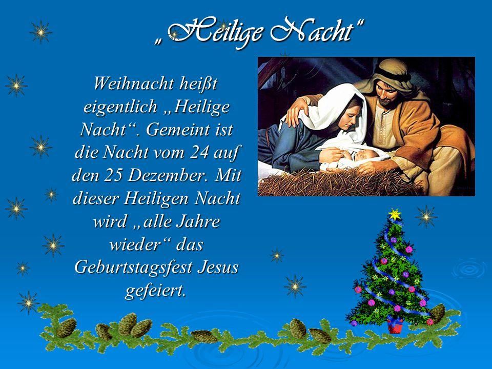 """""""Heilige Nacht"""