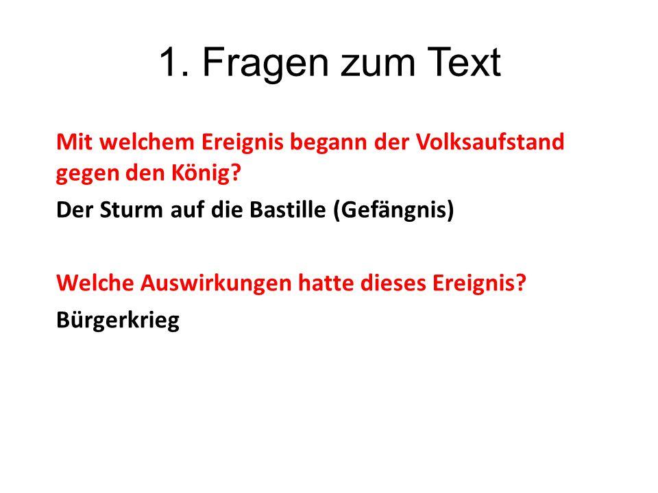 1. Fragen zum Text