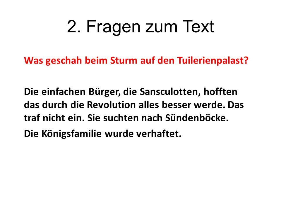 2. Fragen zum Text