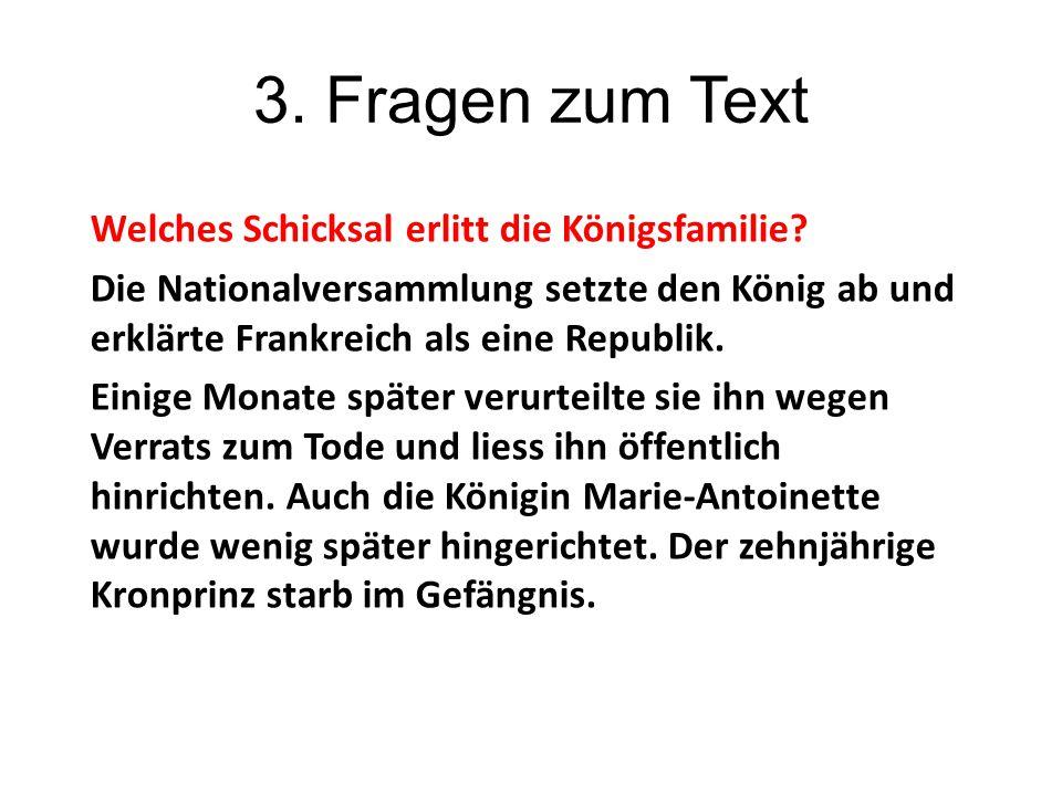 3. Fragen zum Text