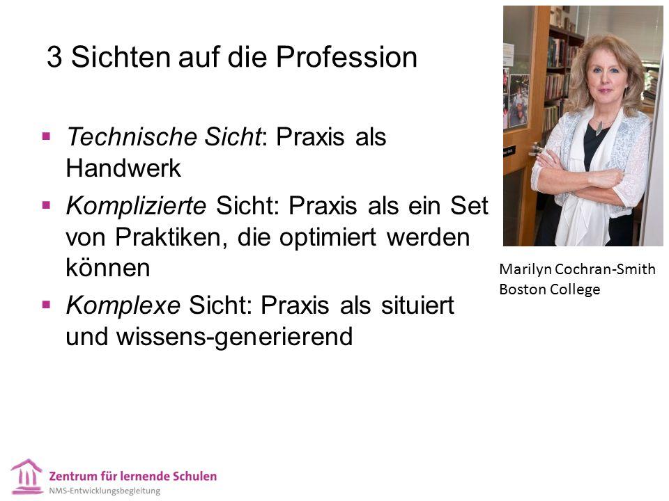 3 Sichten auf die Profession