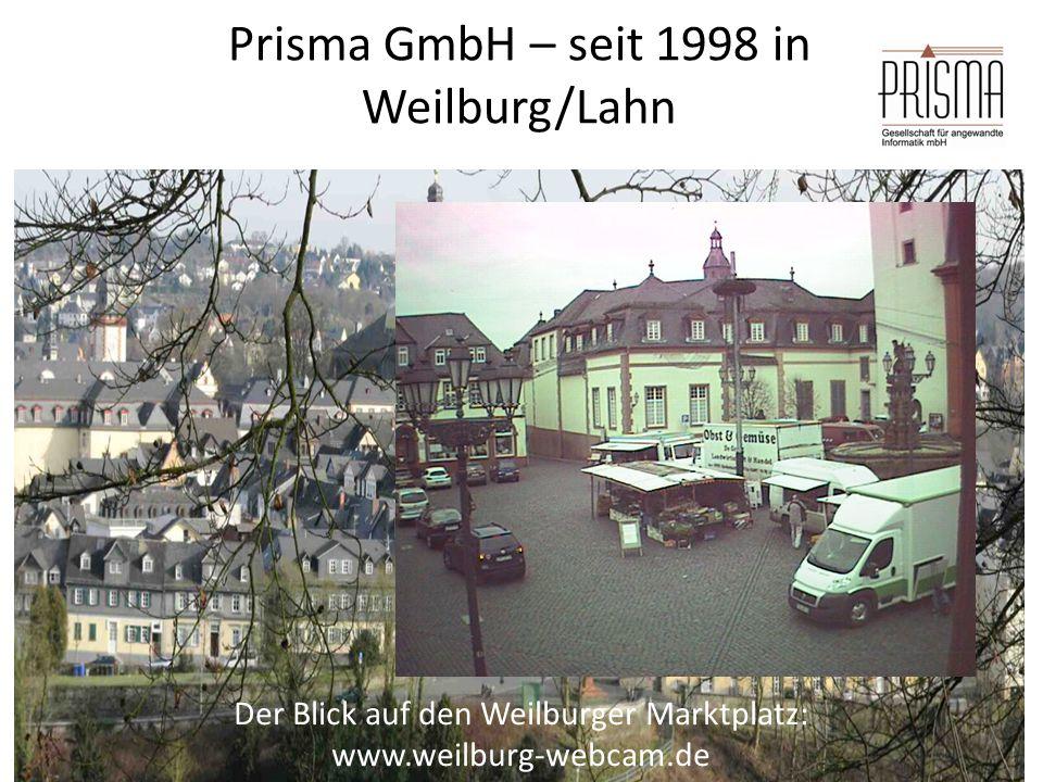 Prisma GmbH – seit 1998 in Weilburg/Lahn