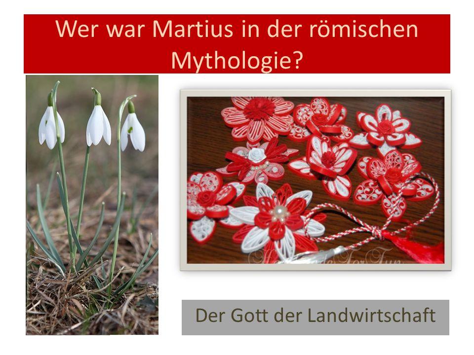 Wer war Martius in der römischen Mythologie