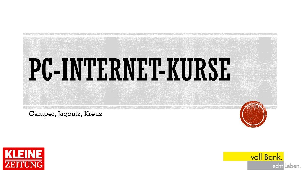 PC-Internet-kurse Gamper, Jagoutz, Kreuz