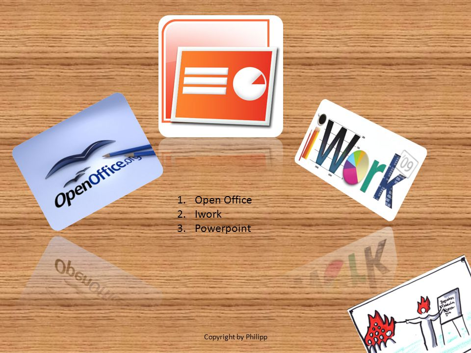 Open Office Iwork Powerpoint Copyright by Philipp
