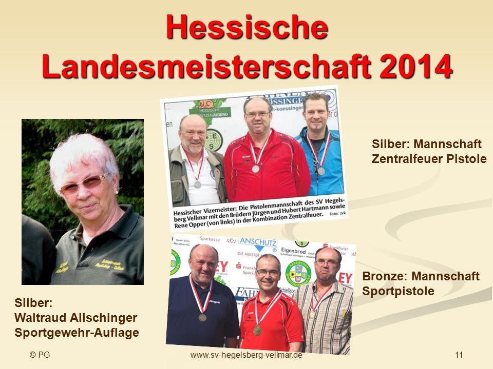 Hessische Landesmeisterschaft 2014