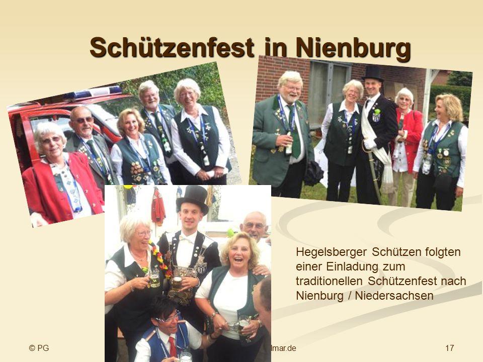 Schützenfest in Nienburg