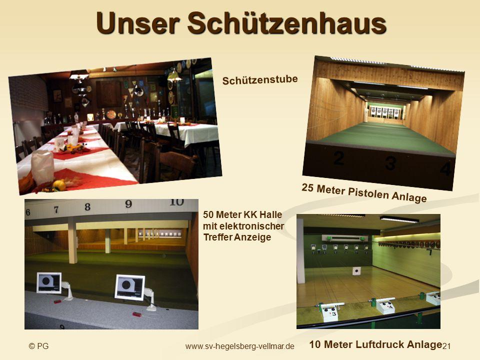 Unser Schützenhaus Schützenstube 25 Meter Pistolen Anlage