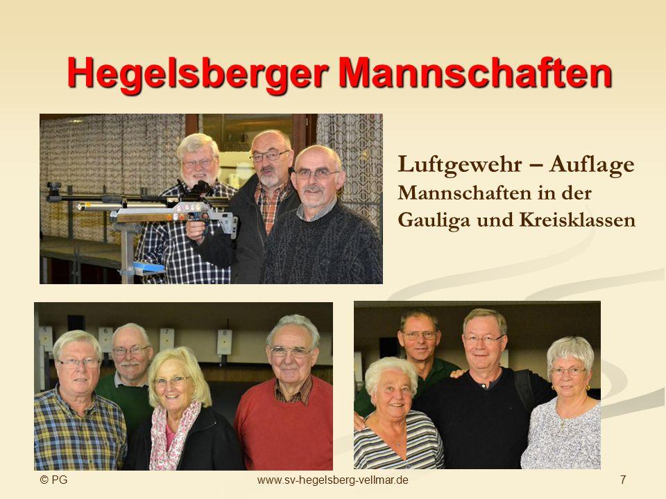 Hegelsberger Mannschaften