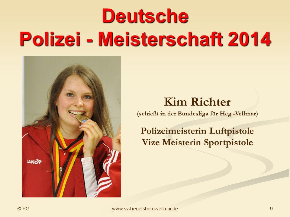 Deutsche Polizei - Meisterschaft 2014