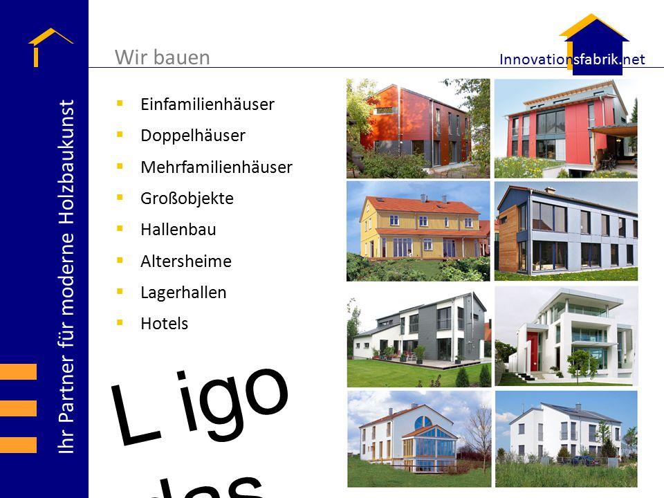 Wir bauen Einfamilienhäuser Doppelhäuser Mehrfamilienhäuser