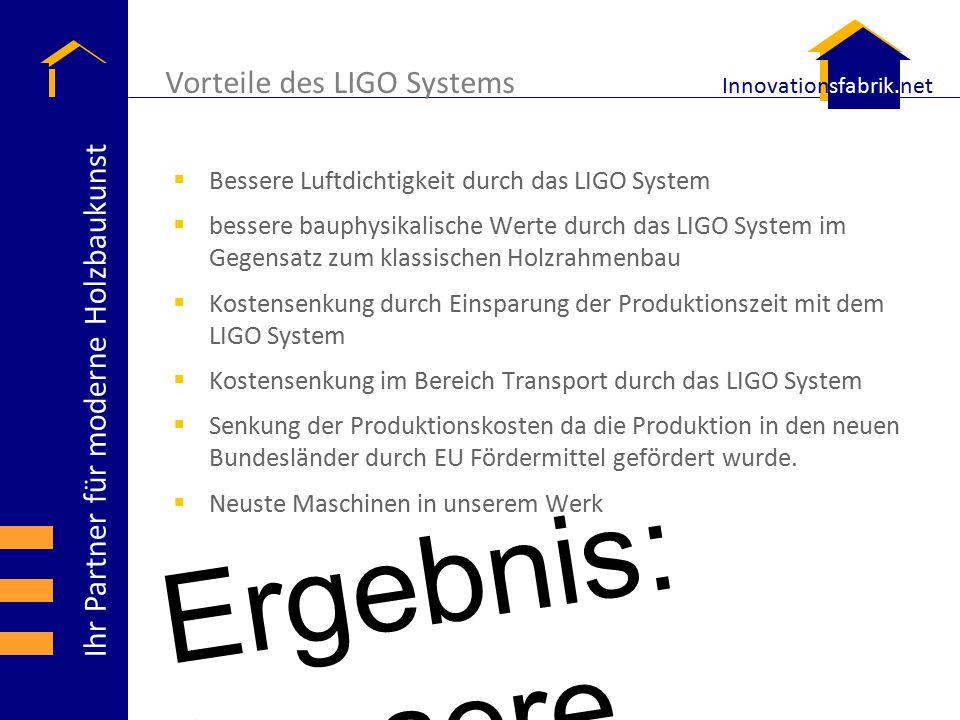 Vorteile des LIGO Systems