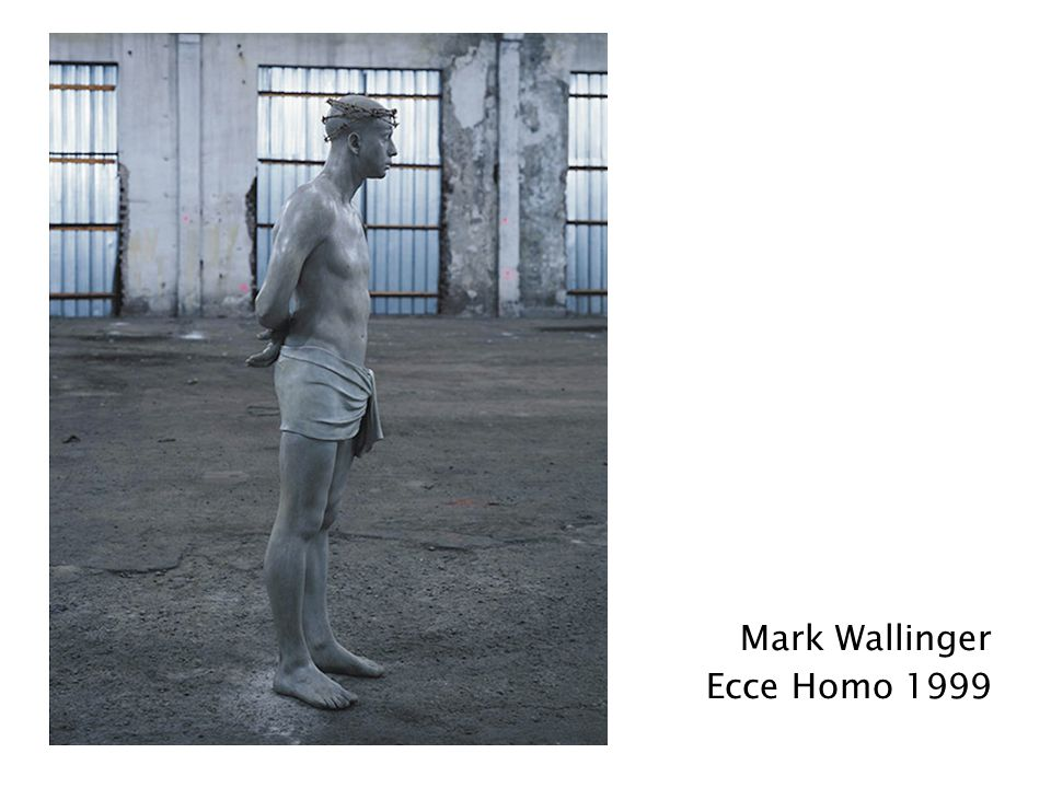Mark Wallinger Ecce Homo 1999