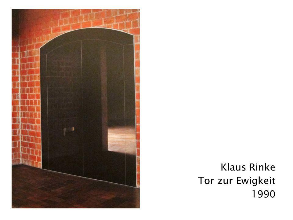Klaus Rinke Tor zur Ewigkeit 1990