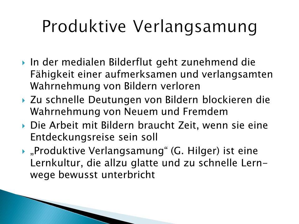 Produktive Verlangsamung