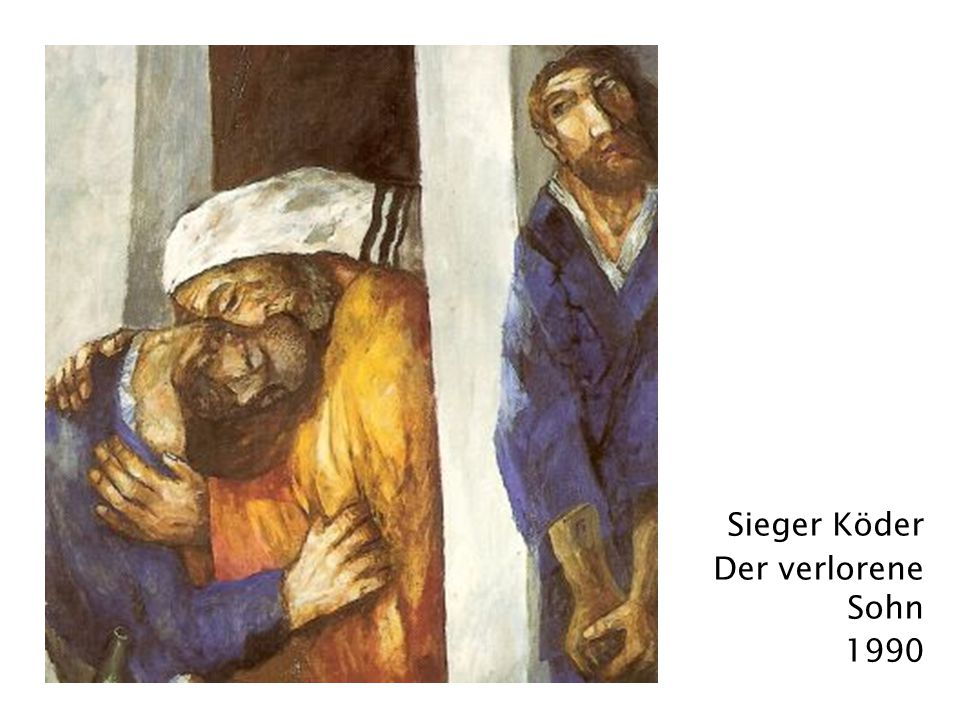 Sieger Köder Der verlorene Sohn 1990
