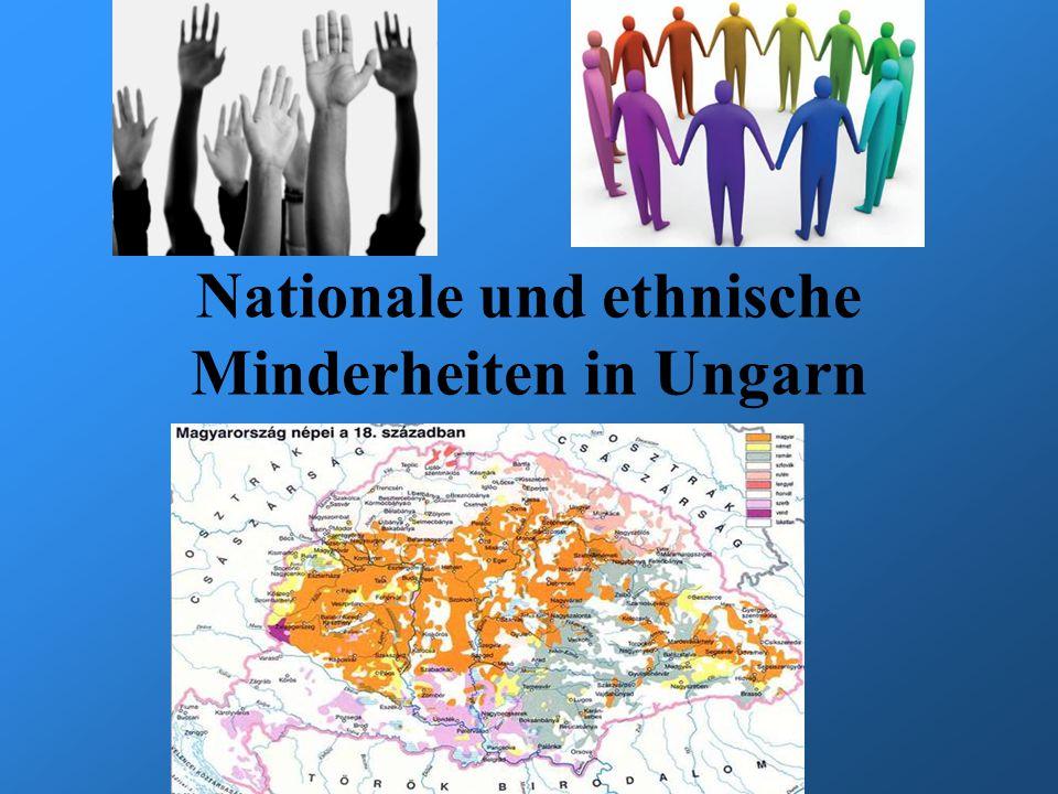 Nationale und ethnische Minderheiten in Ungarn