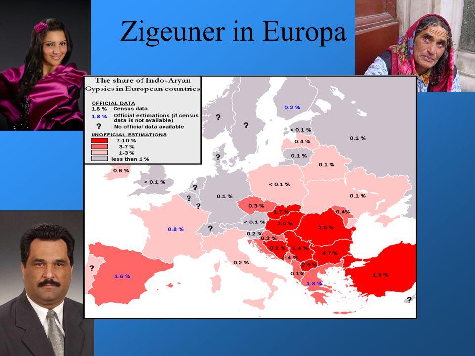 Zigeuner in Europa