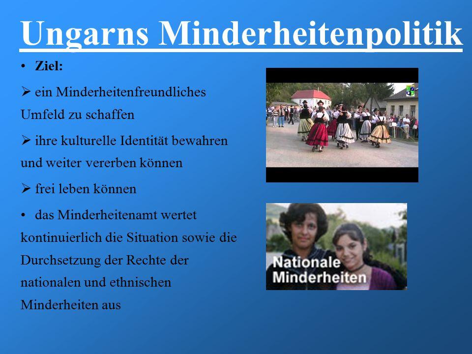 Ungarns Minderheitenpolitik