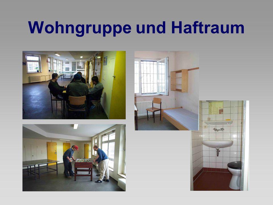 Wohngruppe und Haftraum