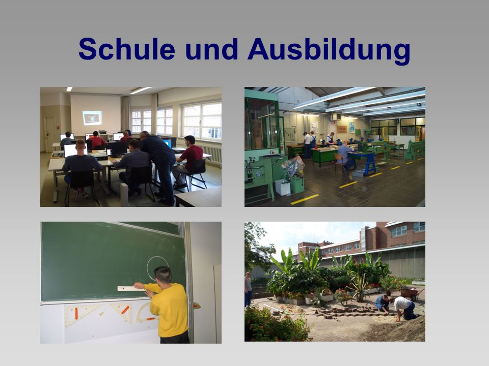 Schule und Ausbildung
