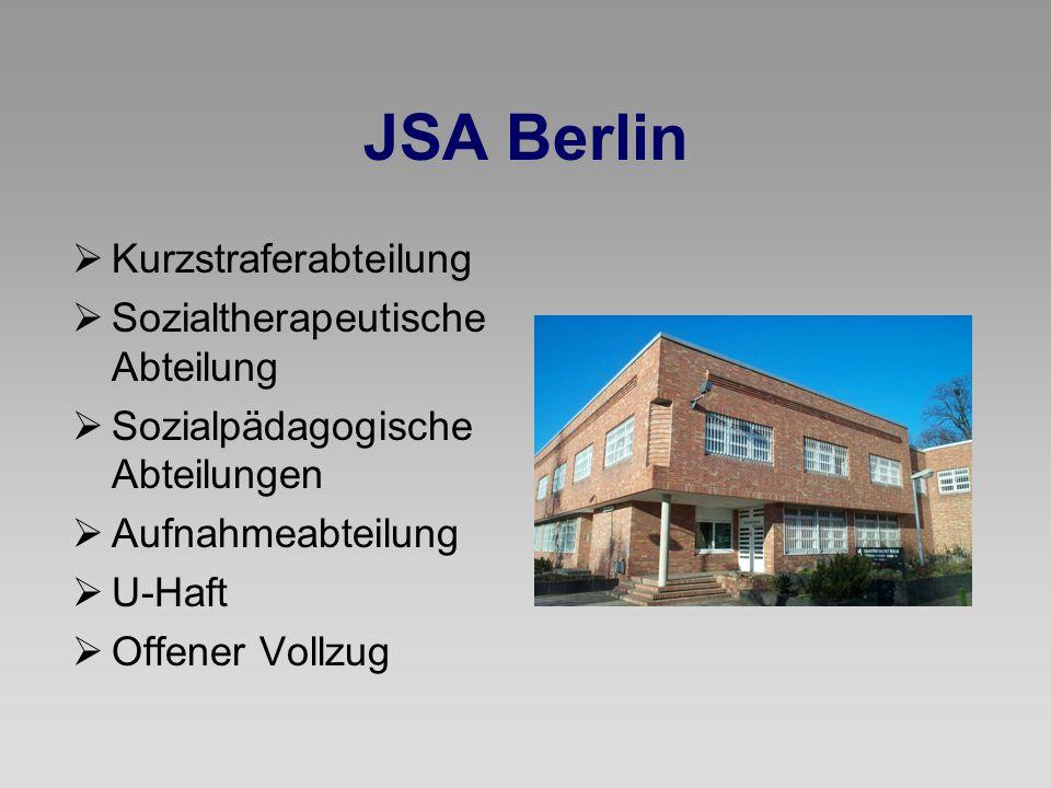 JSA Berlin Kurzstraferabteilung Sozialtherapeutische Abteilung