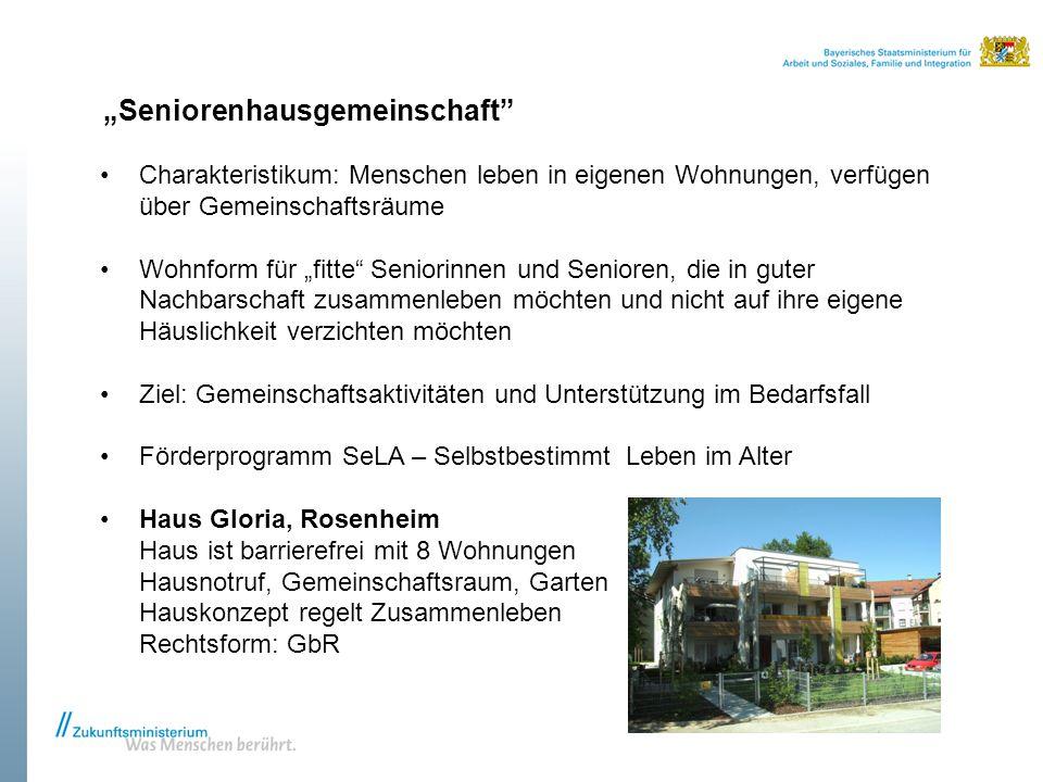"""""""Seniorenhausgemeinschaft"""