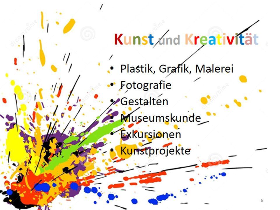 Kunst und Kreativität Plastik, Grafik und Malerei Fotografie Gestalten