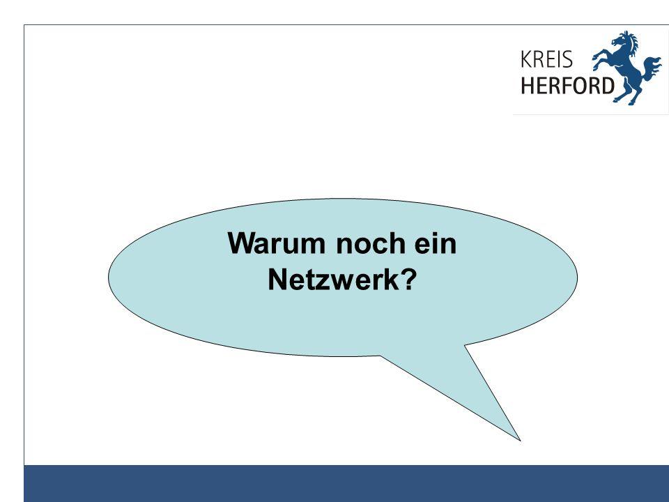 Warum noch ein Netzwerk