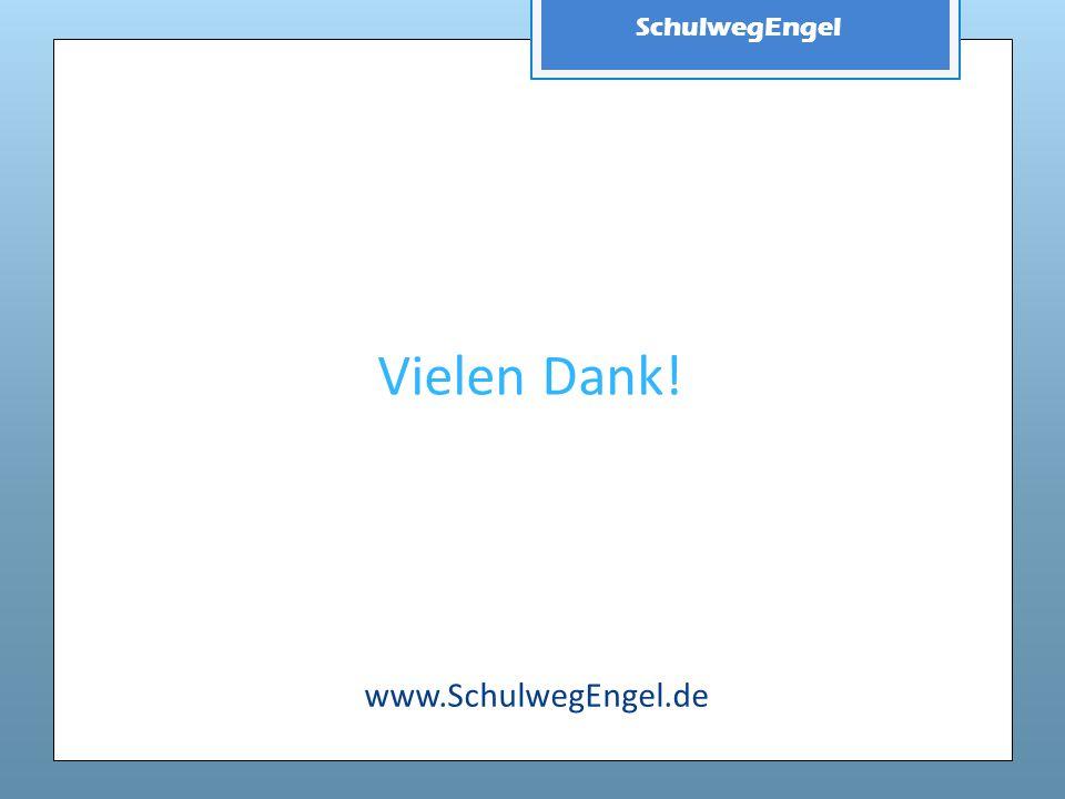 Vielen Dank! www.SchulwegEngel.de