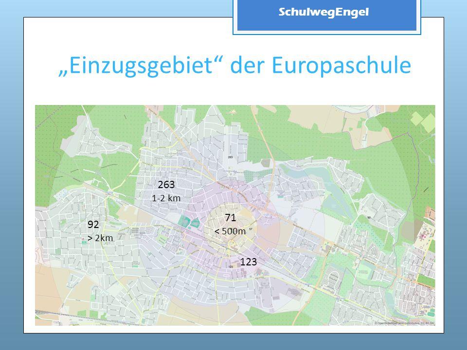 """""""Einzugsgebiet der Europaschule"""