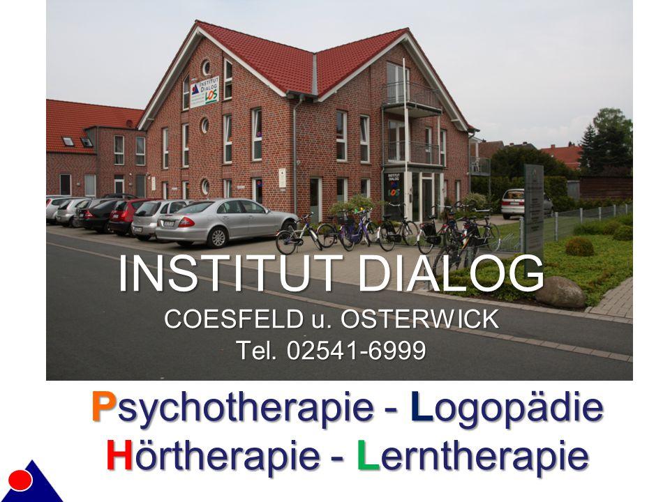 Psychotherapie - Logopädie Hörtherapie - Lerntherapie