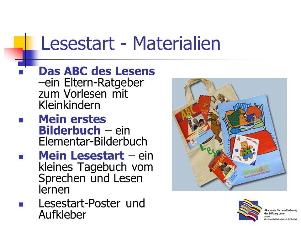 Lesestart - Materialien