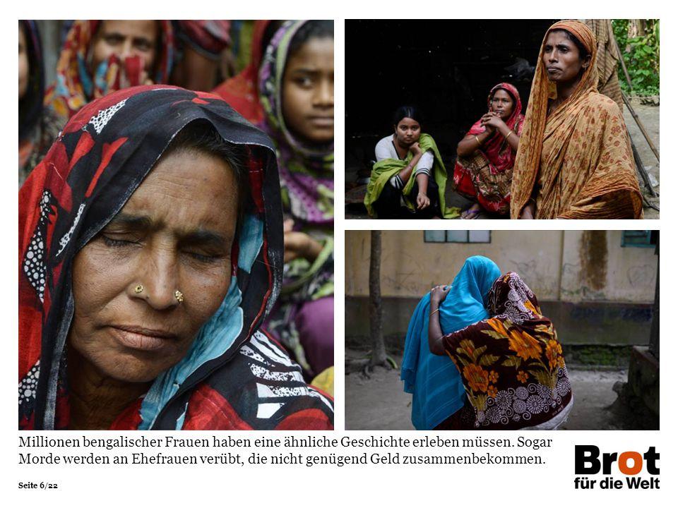 Millionen bengalischer Frauen haben eine ähnliche Geschichte erleben müssen.