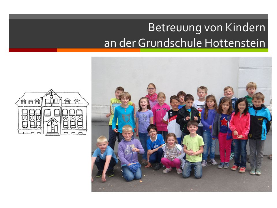 Betreuung von Kindern an der Grundschule Hottenstein