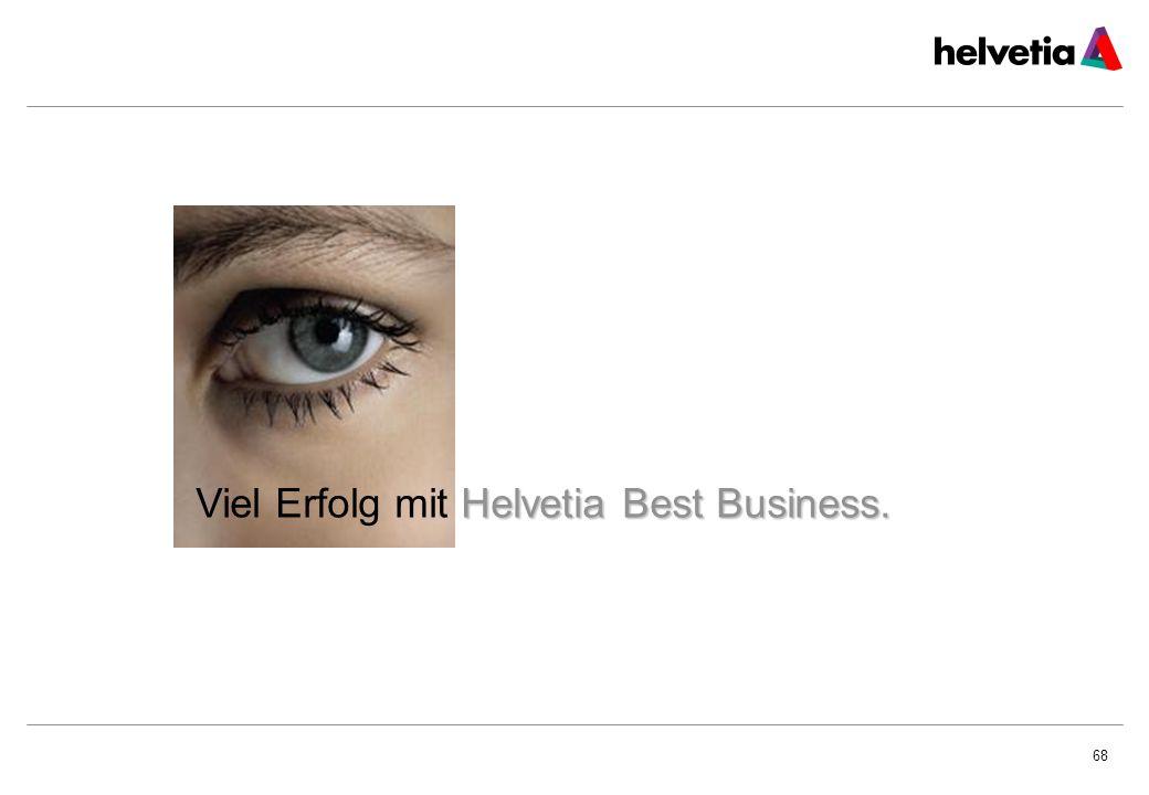 Viel Erfolg mit Helvetia Best Business.