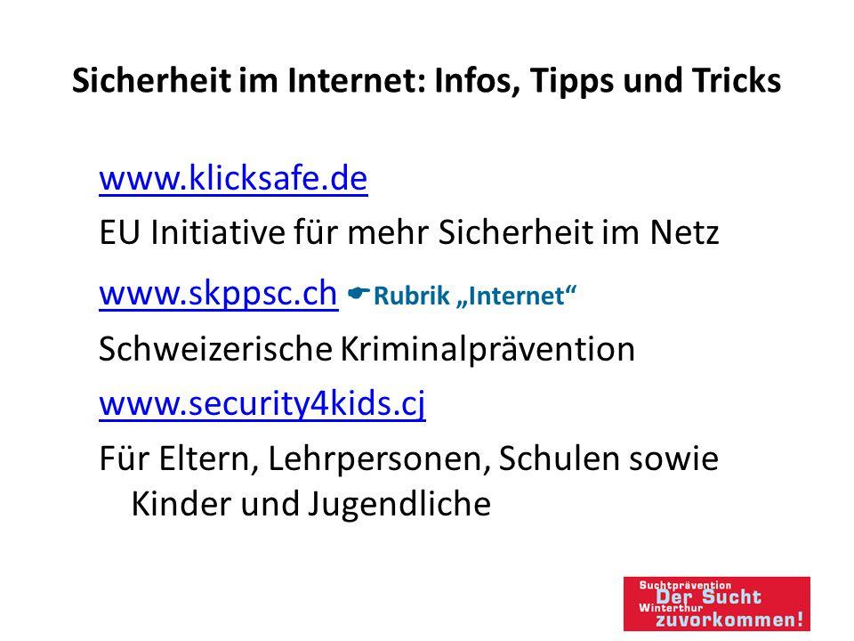 Sicherheit im Internet: Infos, Tipps und Tricks