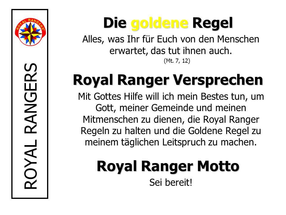 Royal Ranger Versprechen