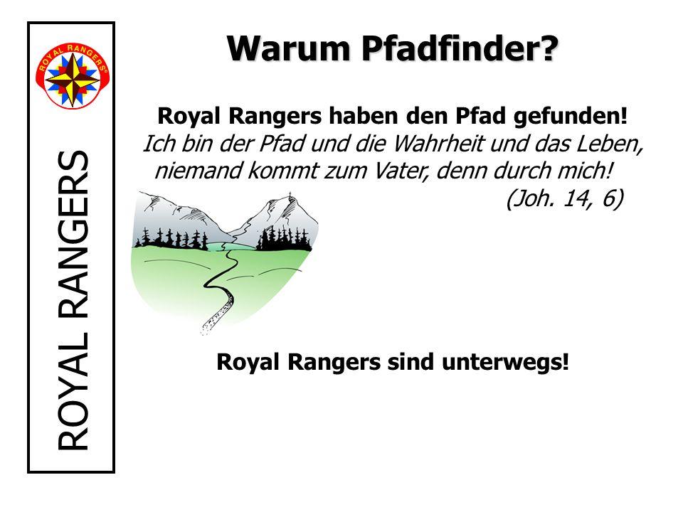 Royal Rangers sind unterwegs!