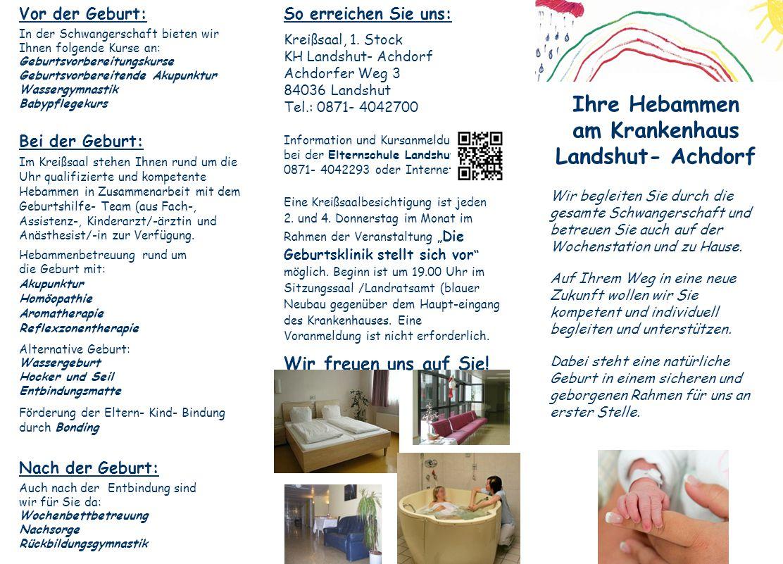 Ihre Hebammen am Krankenhaus Landshut- Achdorf