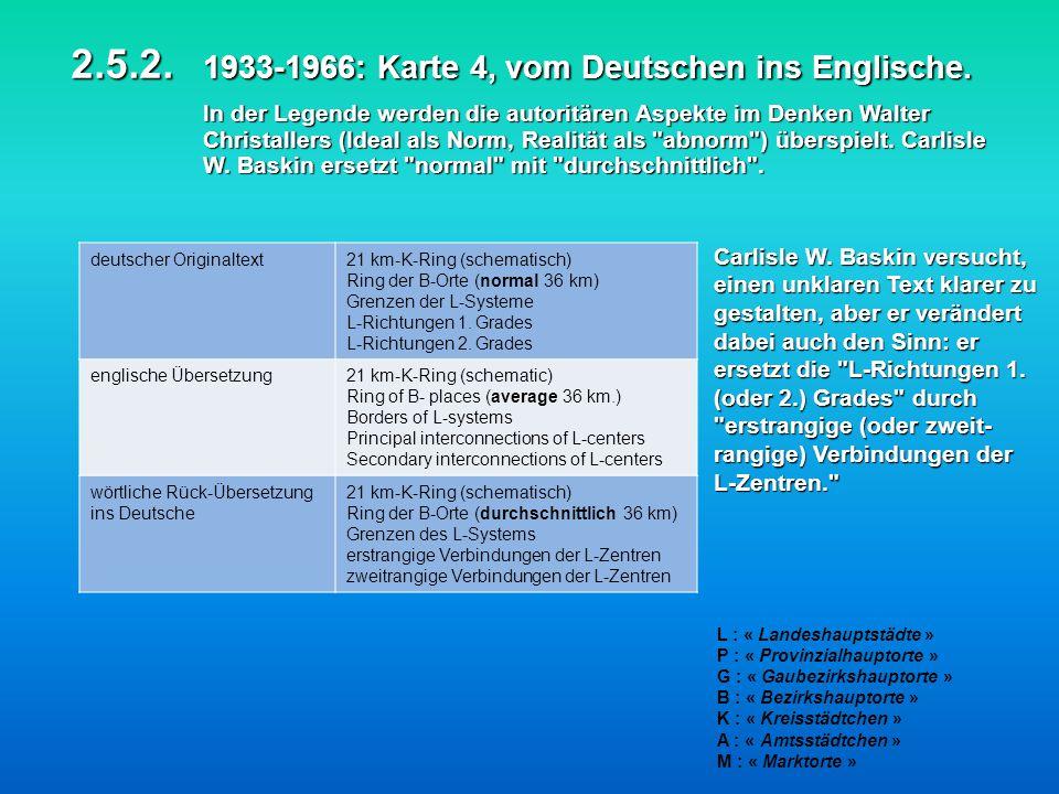 2. 5. 2. 1933-1966: Karte 4, vom Deutschen ins Englische
