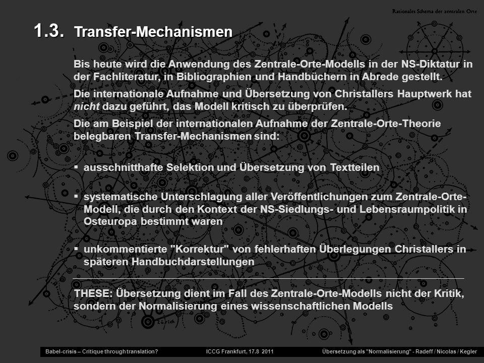 1.3. Transfer-Mechanismen