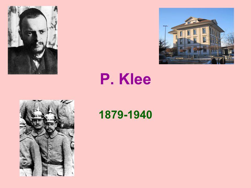 P. Klee 1879-1940