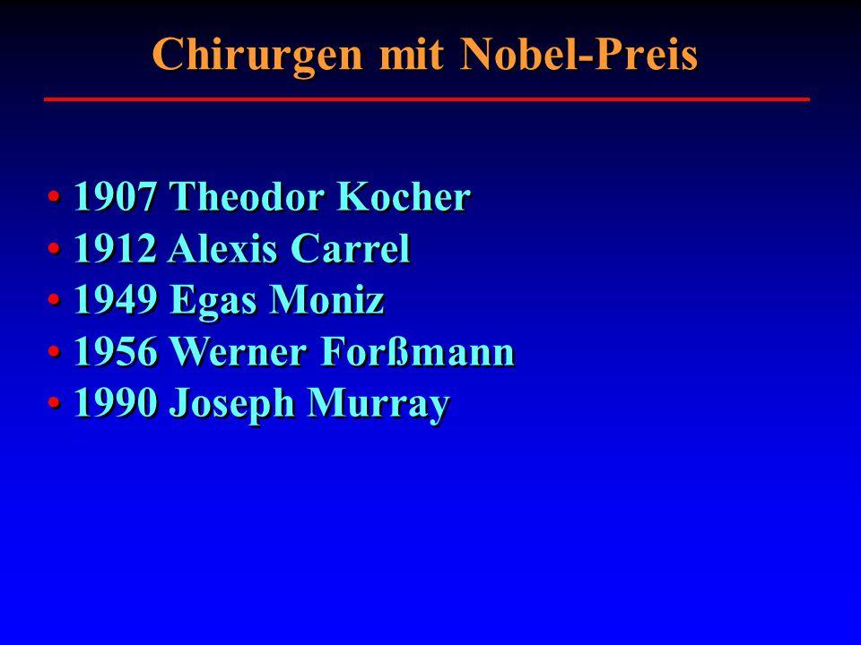 Chirurgen mit Nobel-Preis