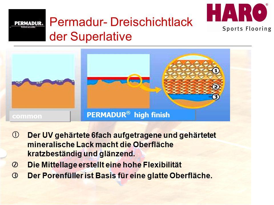 Permadur- Dreischichtlack der Superlative