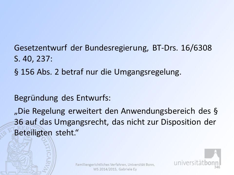 Gesetzentwurf der Bundesregierung, BT-Drs. 16/6308 S