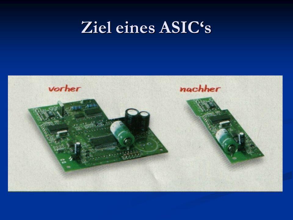 Ziel eines ASIC's