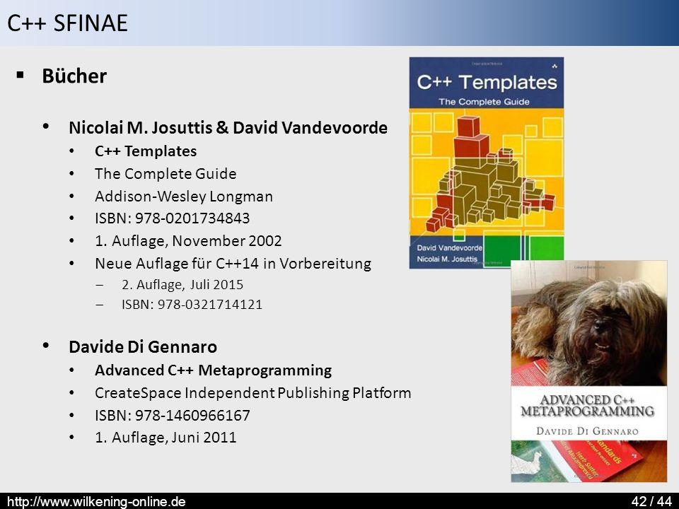 Bücher Nicolai M. Josuttis & David Vandevoorde Davide Di Gennaro